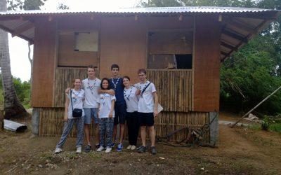Les Scouts de France ont pris la relève sur le chantier de reconstruction !