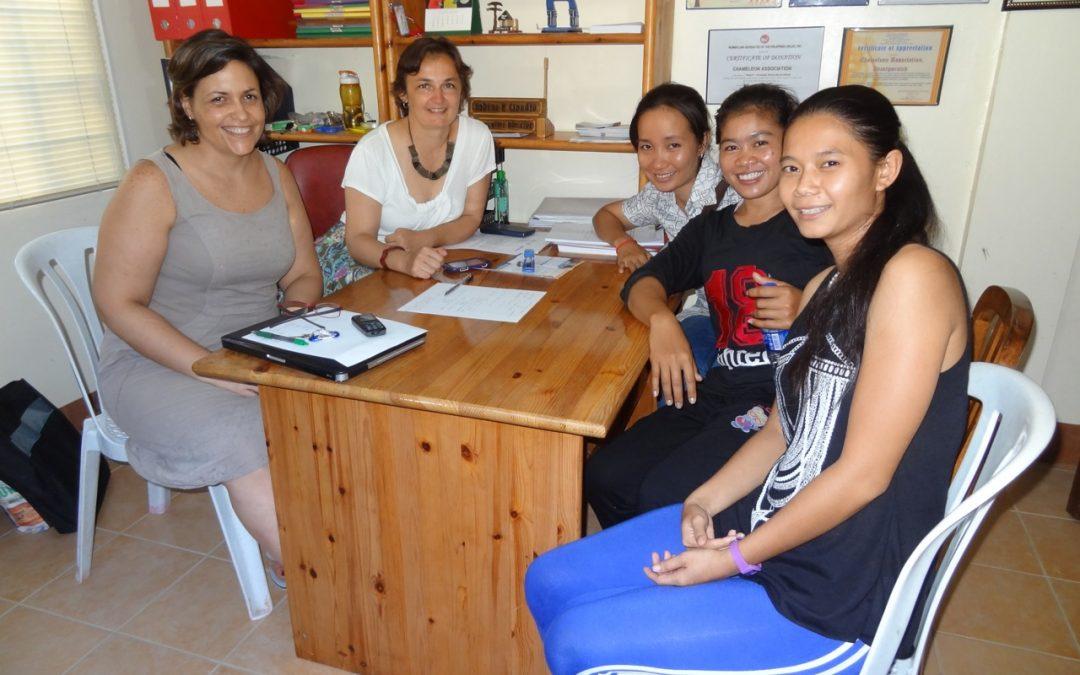 PREMIERE VISITE DE L'ASSOCIATION CAMBODGIENNE «PHARE» AUX PHILIPPINES !
