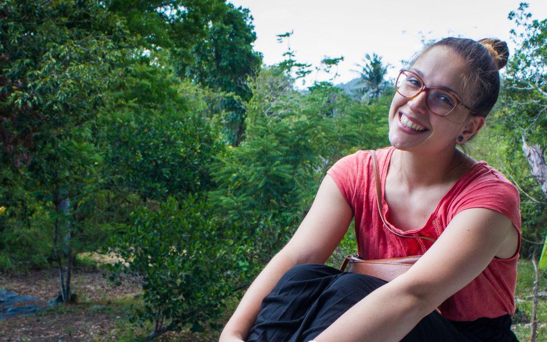 Elise's testimony, volunteer in the field