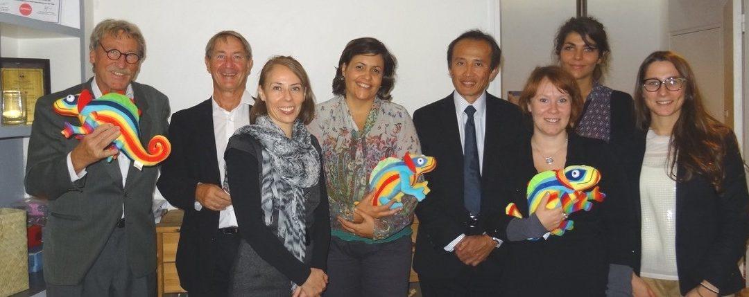 Réunion de lancement officiel du Comité international de CAMELEON à Paris