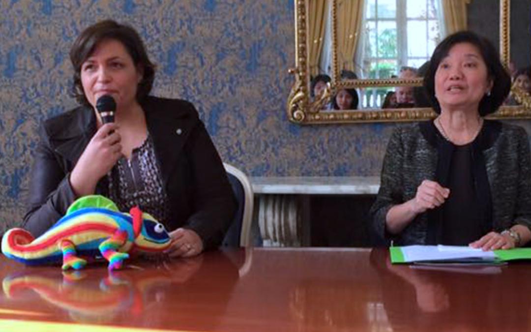 The Philippian Embassy: Laurence Ligier denounces violence against women