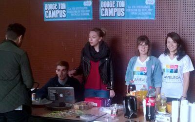 Sarah mobilise son Université pour la journée internationale des Droits de l'Enfant
