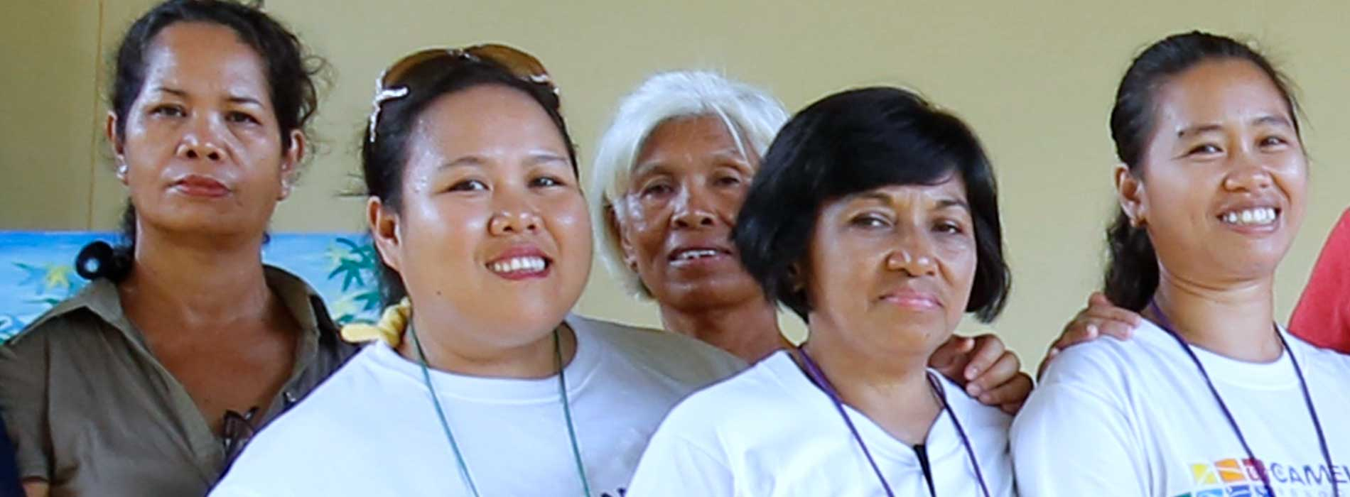 Testimony of Melanie, social worker at the center in the Philippines