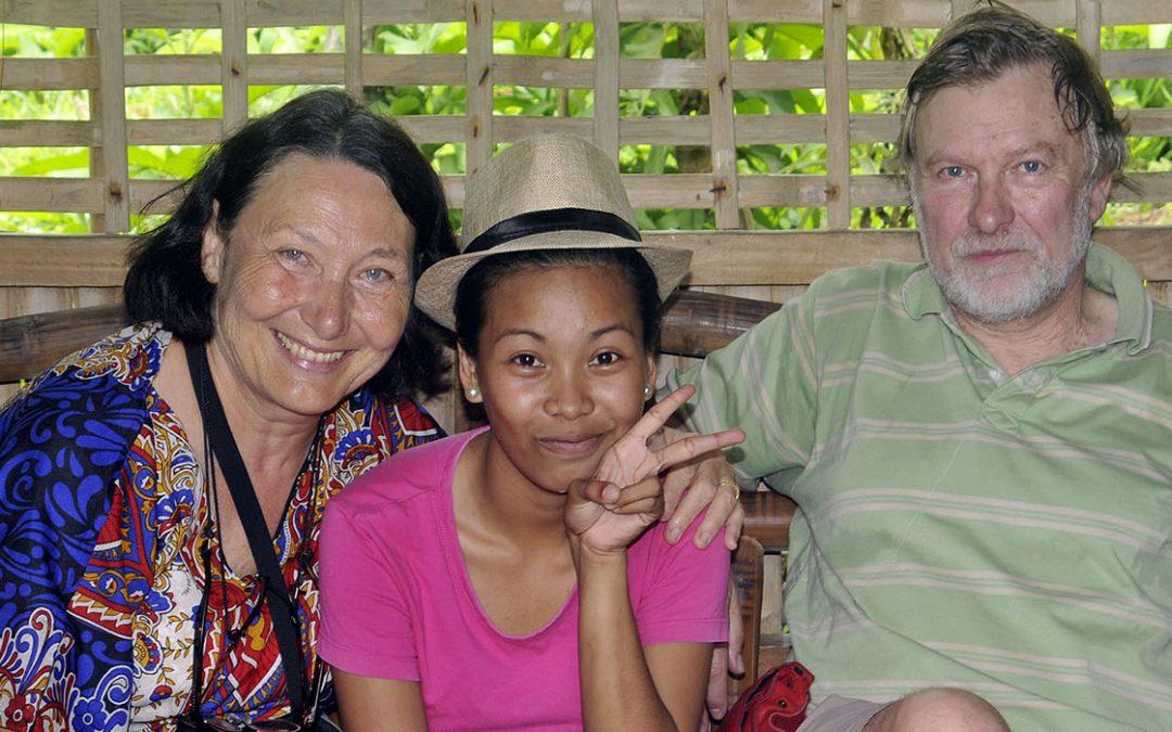 Anita et Didier ont enfin pu rencontrer Christine qu'ils parrainaient depuis 6 ans !