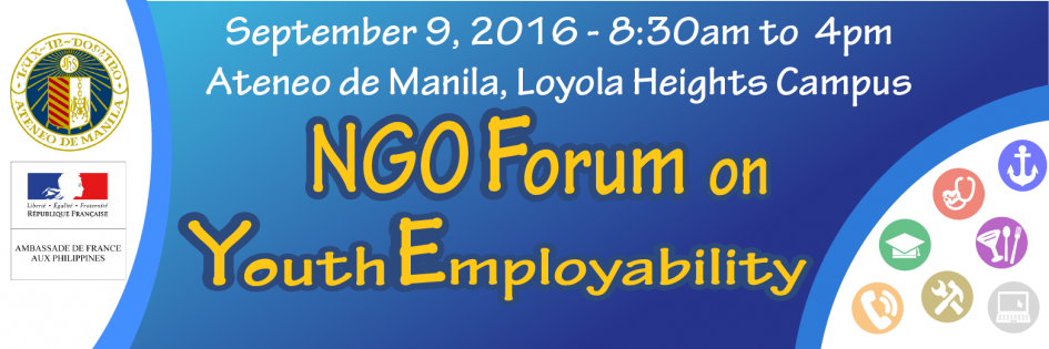 Forum sur l'insertion professionnelle des jeunes Philippins défavorisés