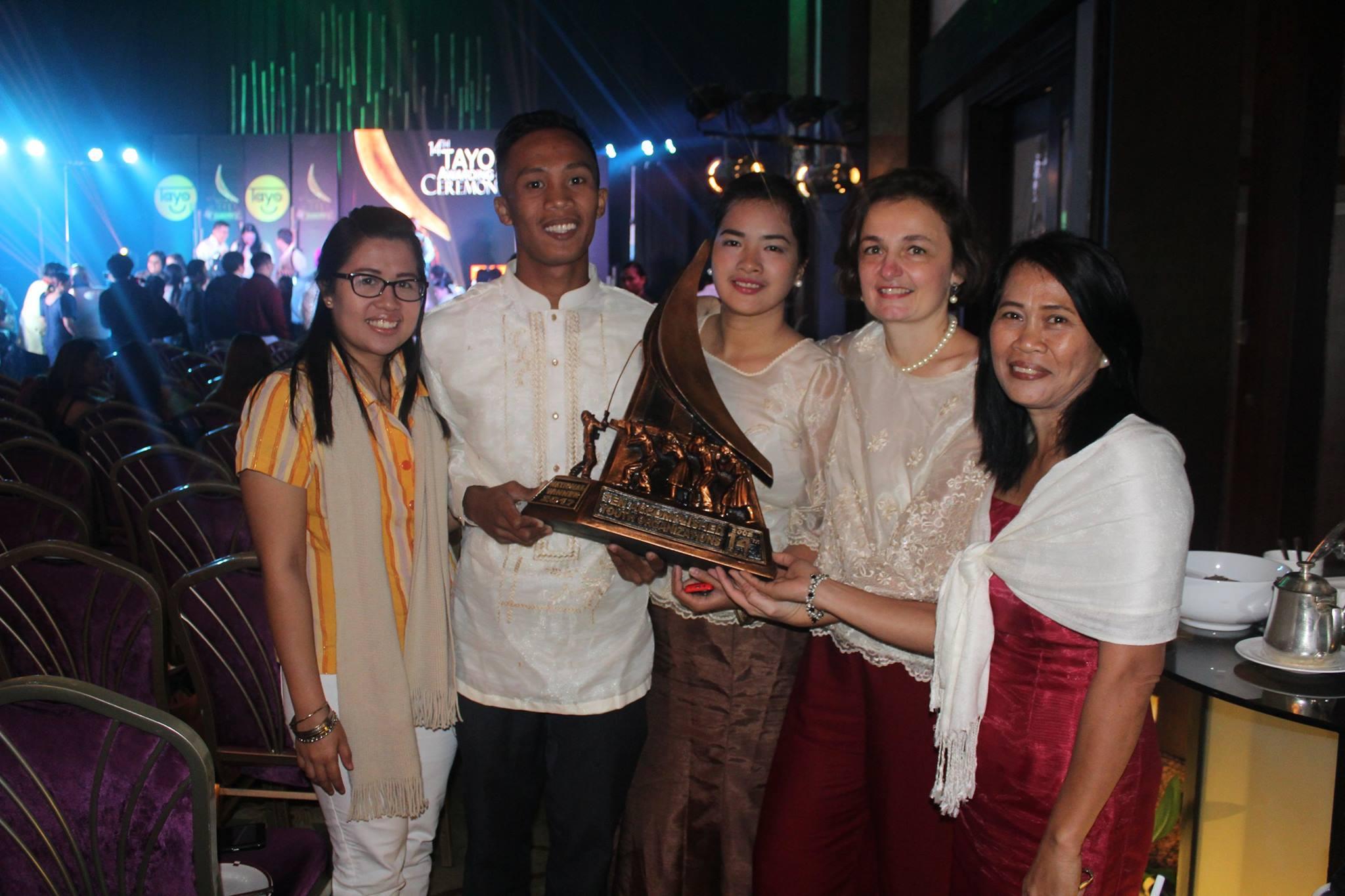 Les jeunes Ambassadeurs des droits de l'Enfant GAGNENT les TAYO Awards !
