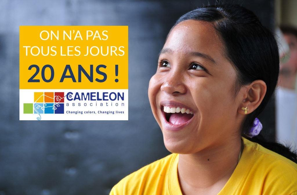 SAVE THE DATE : CAMELEON fête ses 20 ans aux Philippines le 27 mai 2017 !