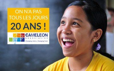 SAVE THE DATE : CAMELEON fête ses 20 ans aux Philippines le 27 mai 2017 !