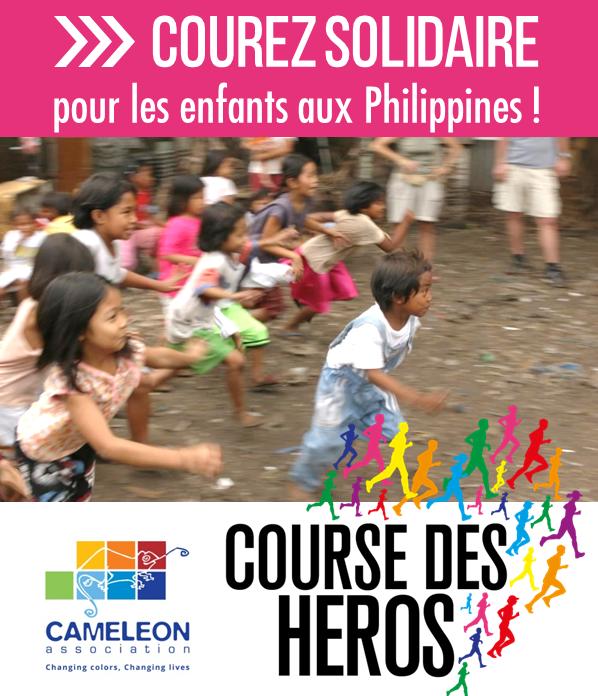 Devenez les héros des enfants de CAMELEON !