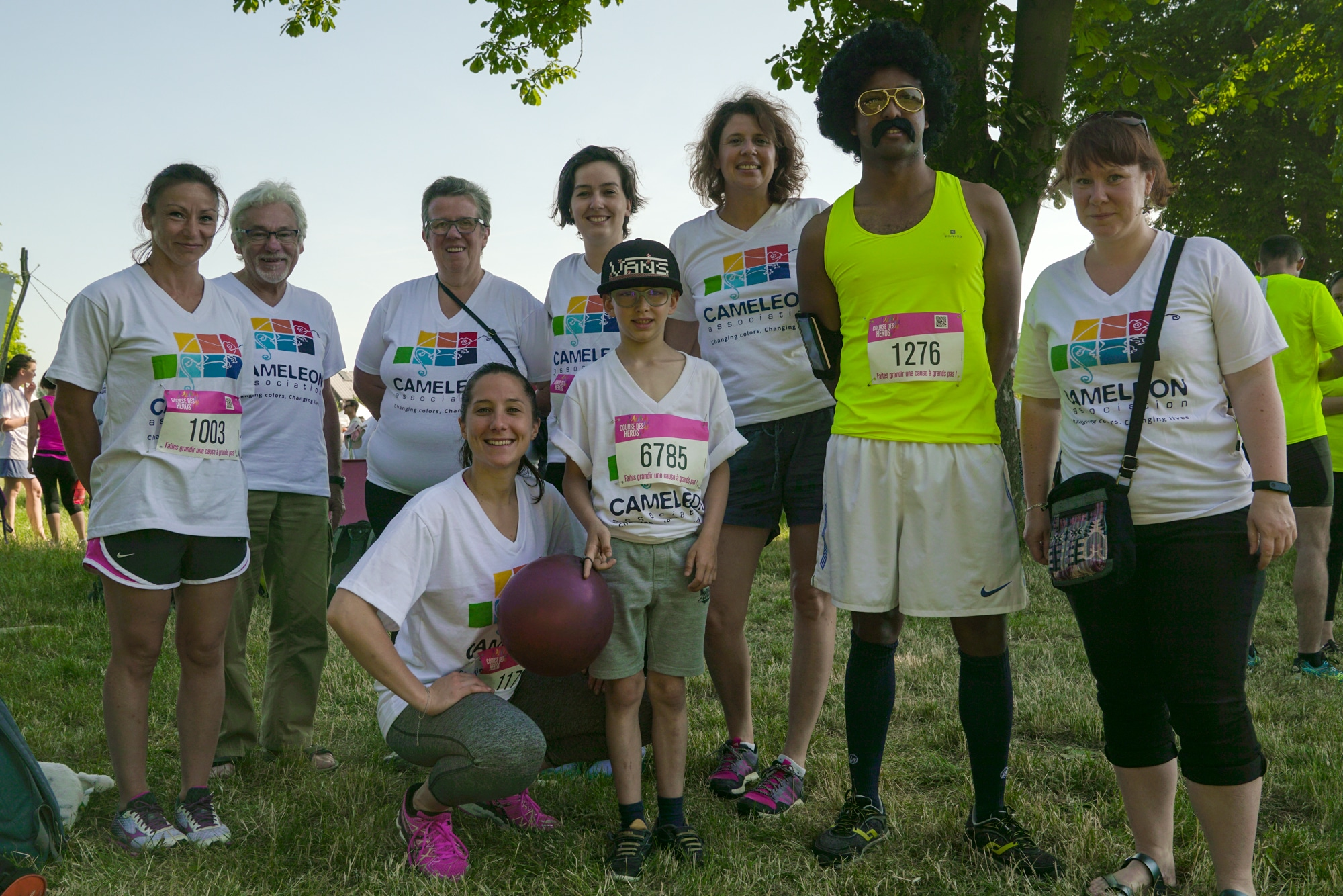 """Thank you to the runners, the children's """"heroes""""!"""