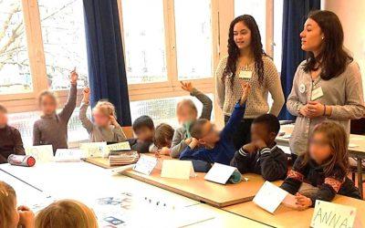 CAMELEON sensibilise les jeunes dans les établissements scolaires français