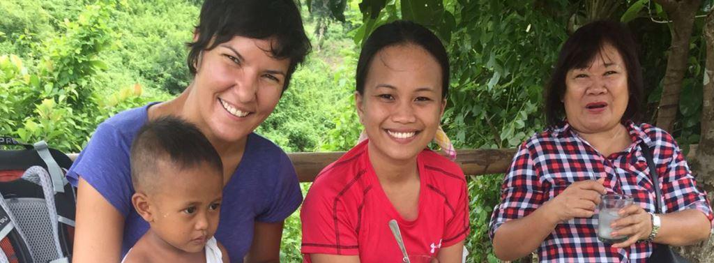 Les bénévoles en mission aux Philippines : mars-août 2017