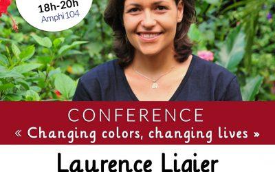 ÉVÉNEMENT : conférence de Laurence LIGIER à l'Ecole 3A de Paris