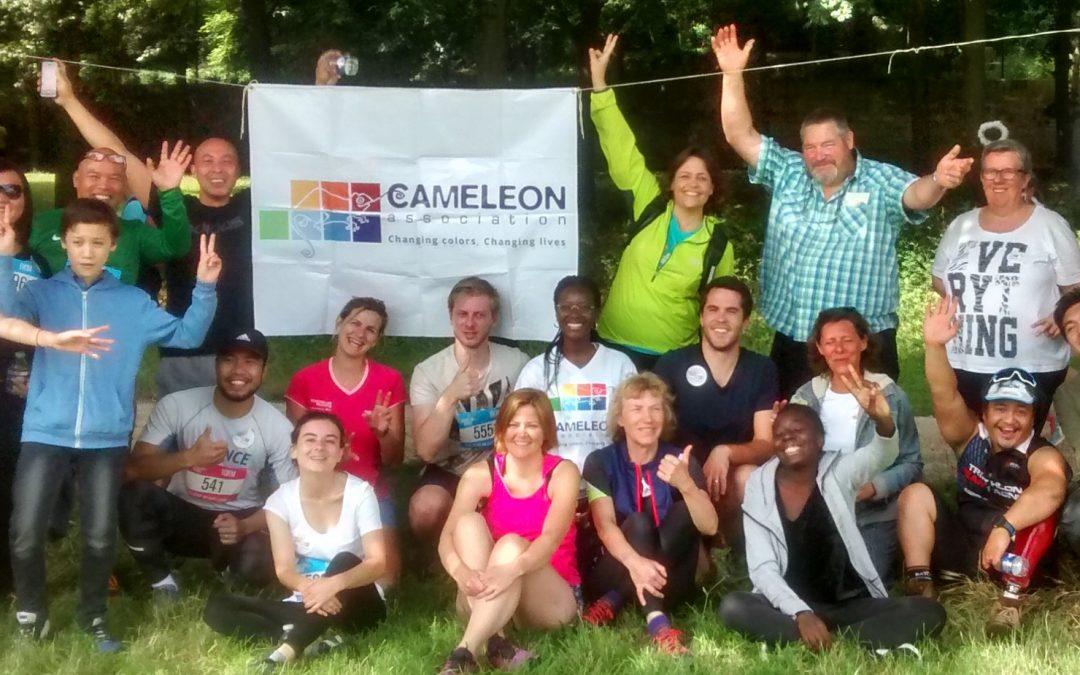 Course des Héros 2018 : Les Héros sportifs de CAMELEON