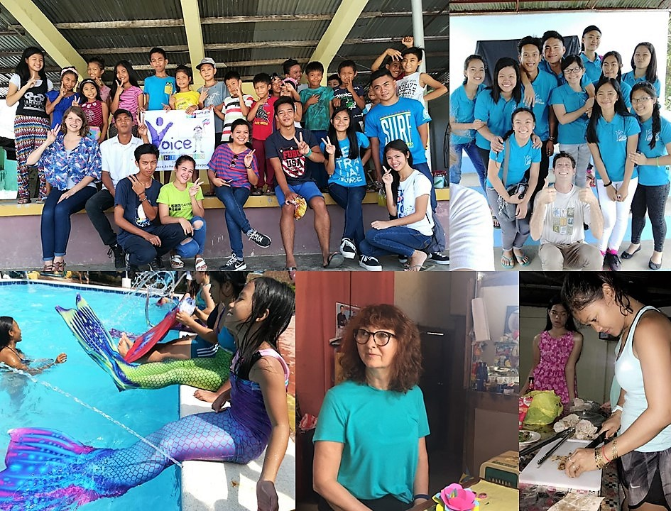 Volunteers of CAMELEON on the field, from april to june 2018