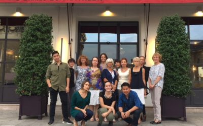 The CAMELEON volunteers in France, from July to September 2018