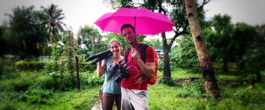 Benjamin et Lucie bénévoles CAMELEON – Témoignage
