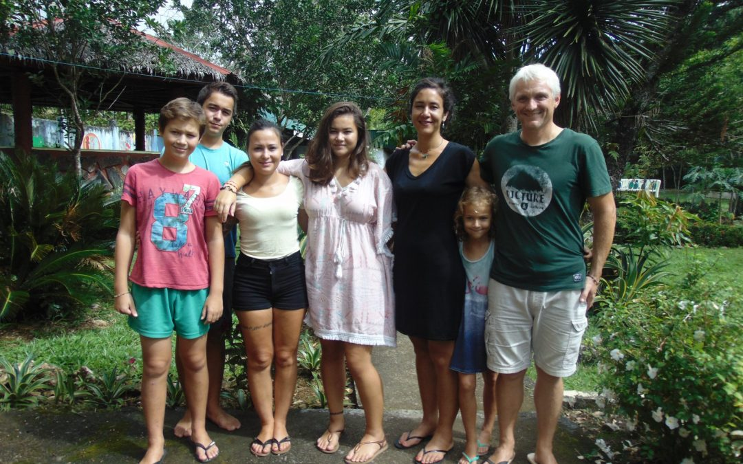 The Badoux family in the Philippines!