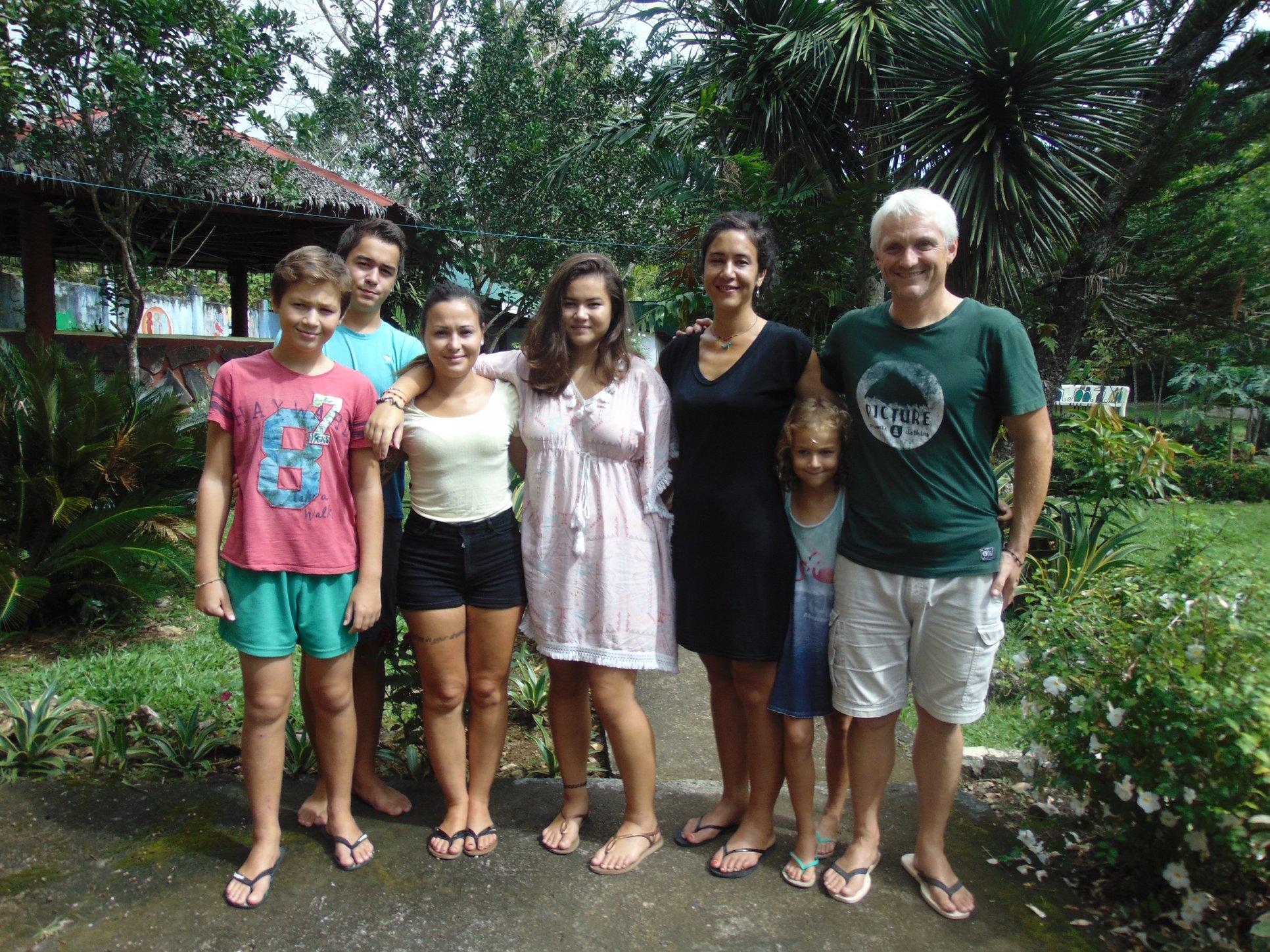 La famille Baudoux aux Philippines !