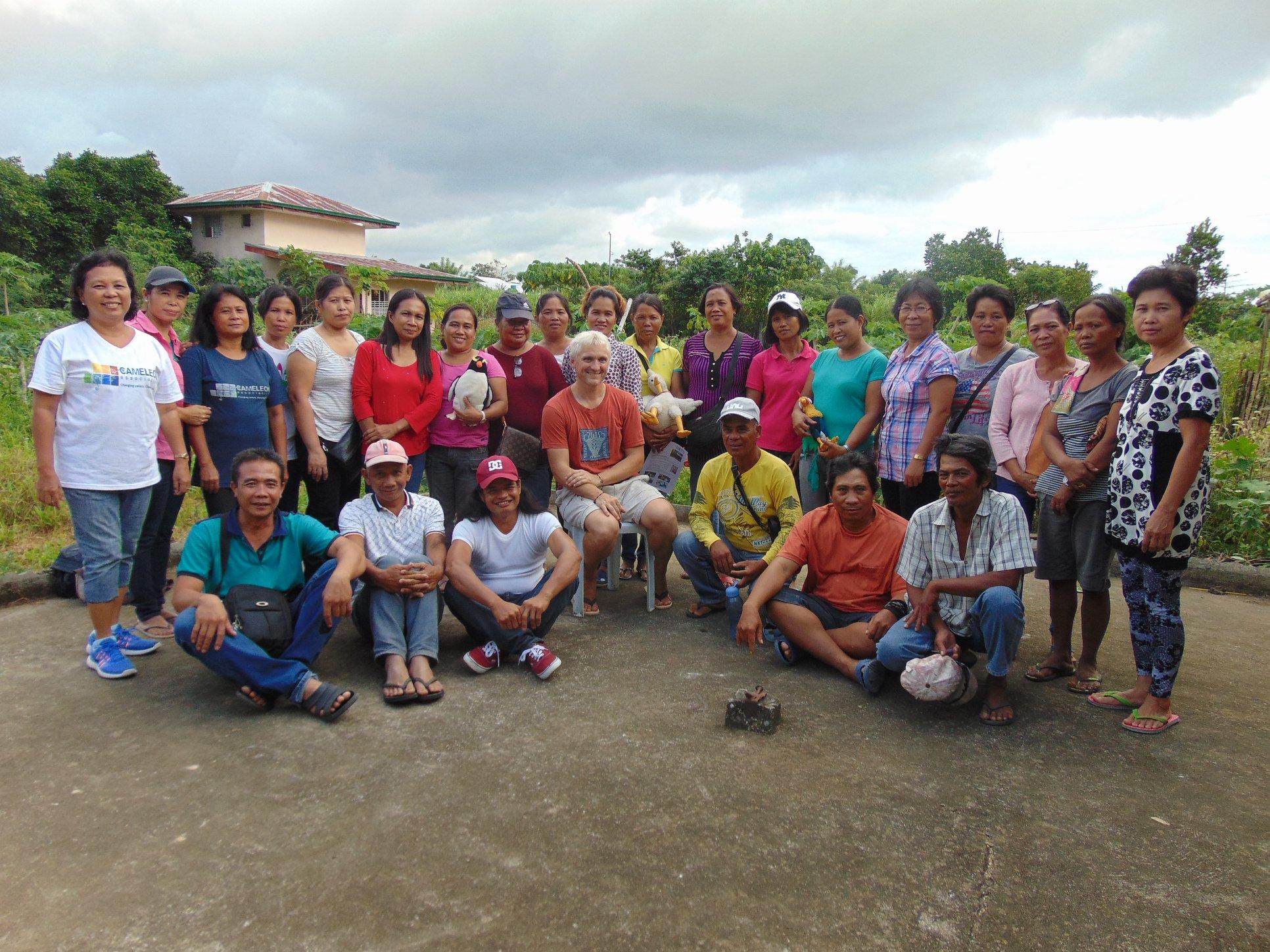 Les actions bénévoles Philippines d'octobre 2018 à mars 2019