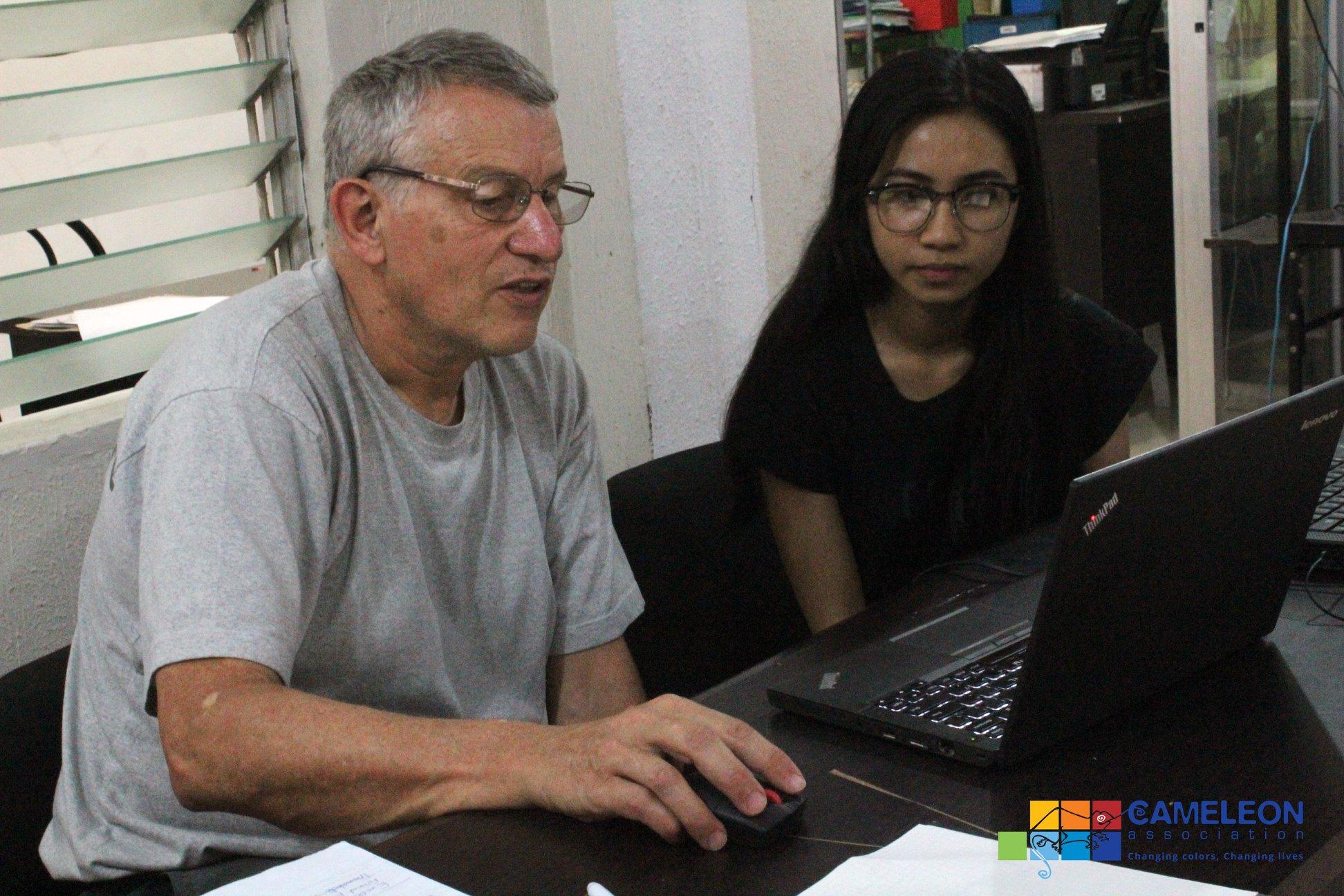 François revient sur sa mission «Support Informatique» aux Philippines