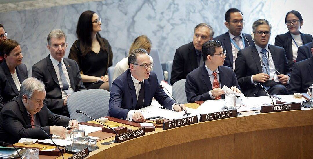 The USA are blocking the Security Council's advances about conflict-related sexual violence
