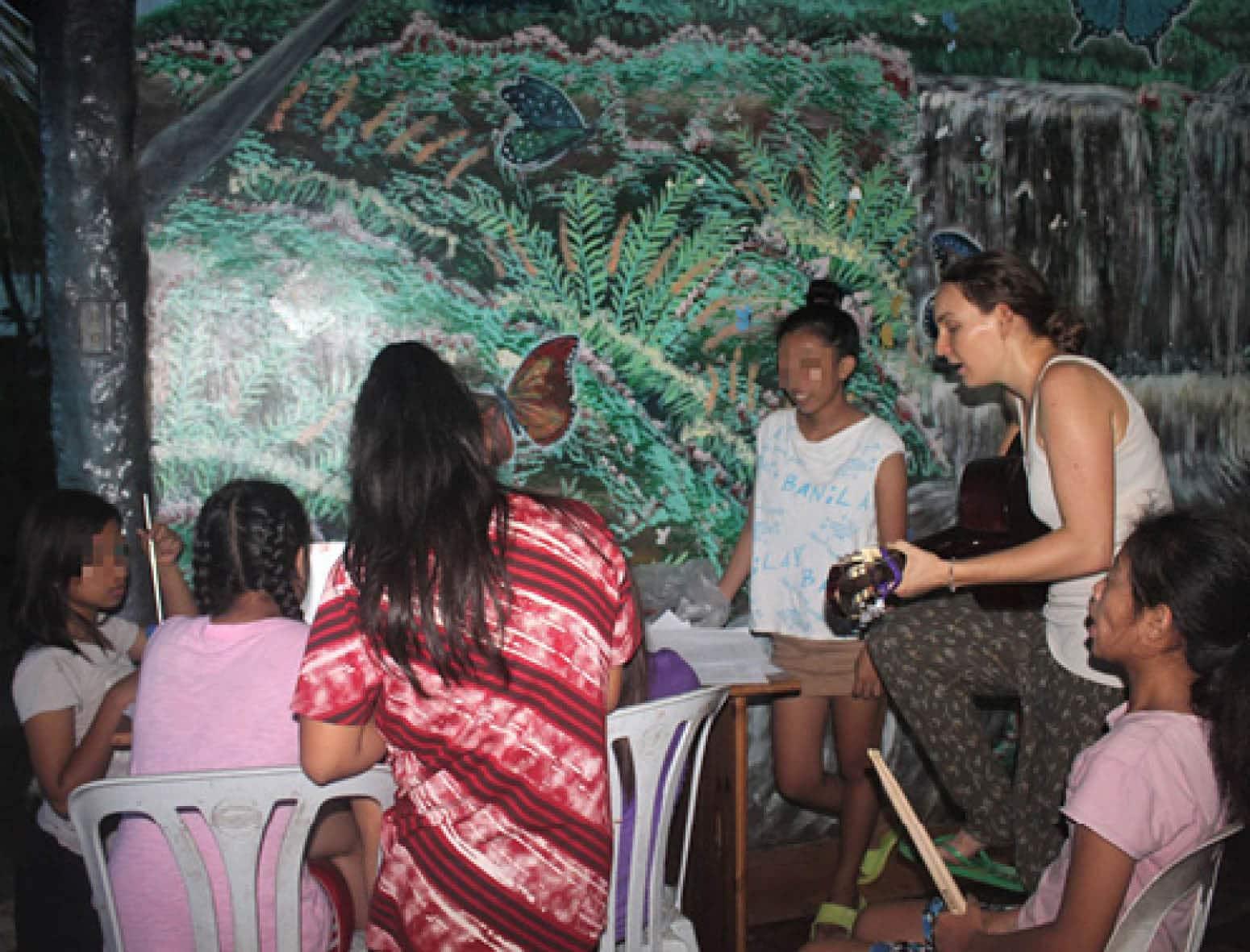 Adeline, en stage à CAMELEON Philippines