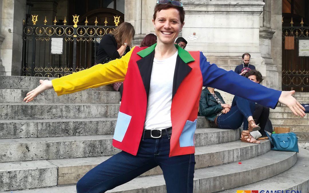La veste CAMELEON par notre marraine et bénévole Tanya