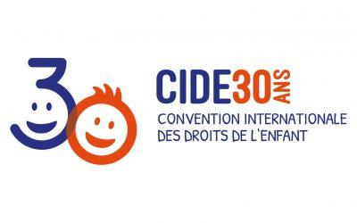 Joyeux anniversaire aux droits de l'enfant, la CIDE a 30 ans !