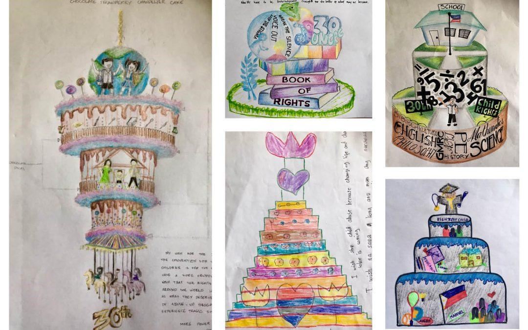 Concours de dessins pour célébrer l'anniversaire des droits de l'enfant