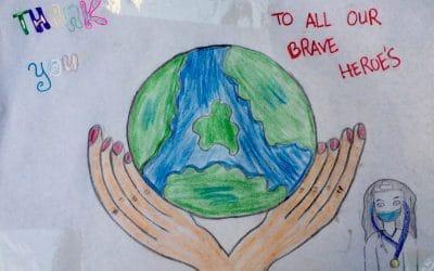 Défi dessins lancé par La Voix de l'enfant et la Fondation ENGIE