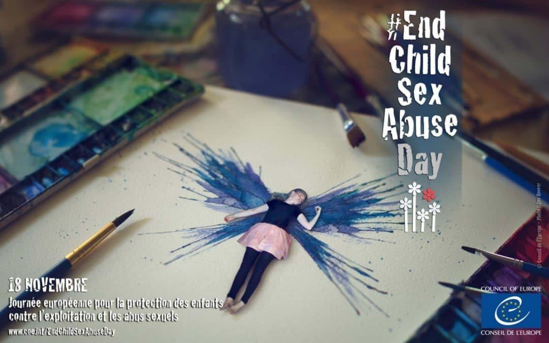 Journée européenne pour la protection des enfants contre l'exploitation et les abus sexuels