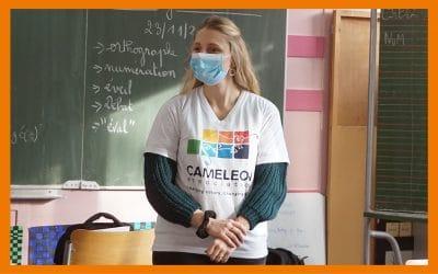 Témoignage de Cassandra, stagiaire en charge des Actions écoles