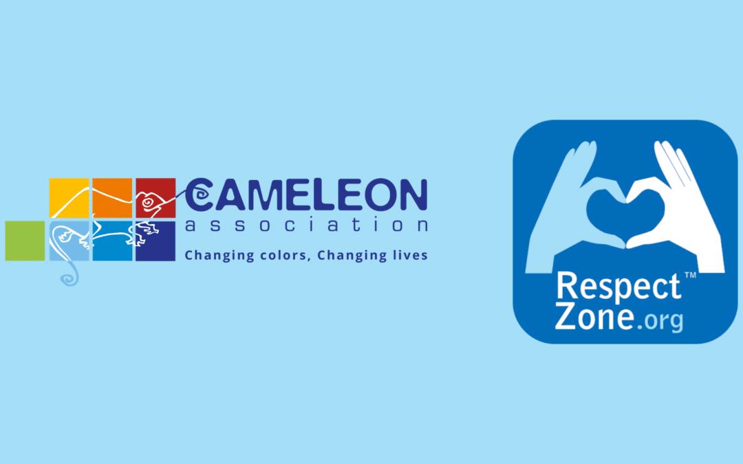 Nouveau partenariat Respect Zone – CAMELEON France