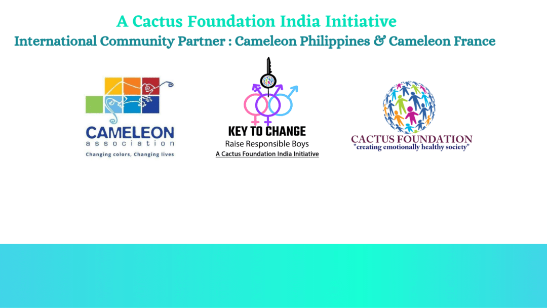 Campagne internationale pour l'égalité des sexes avec CACTUS FOUNDATION