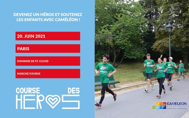 Course de Héros 2021 – Courir pour protéger les enfants des violences avec CAMELEON