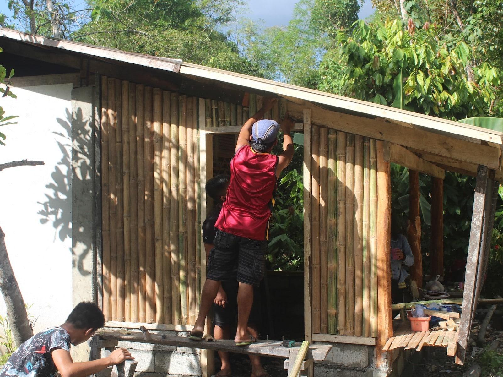 Reparation maison Cameleon association