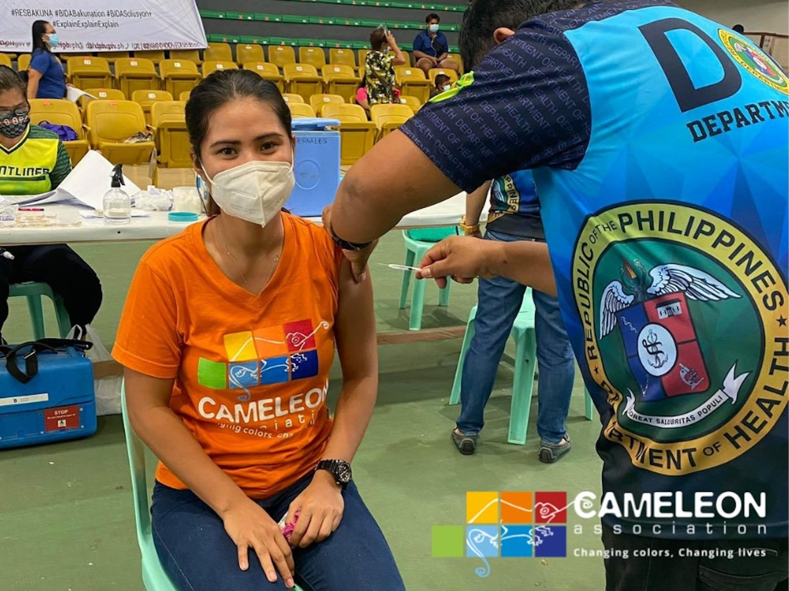 Vaccination Cameleon association