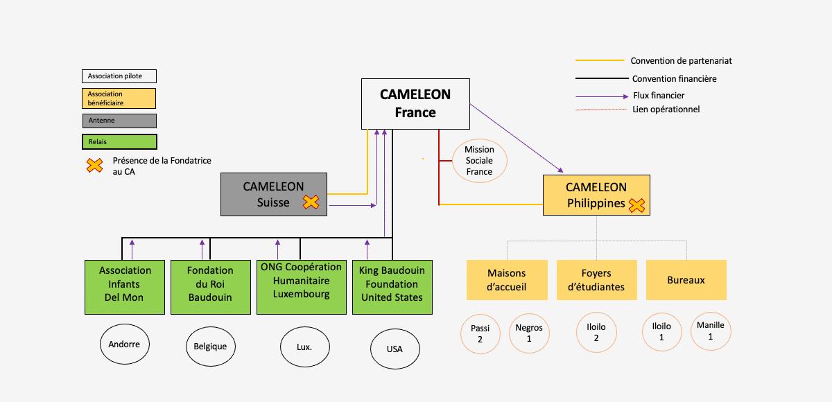 Association CAMELEON Gouvernance